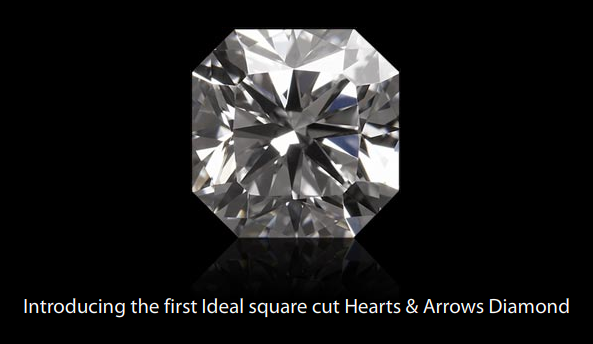 Ideal Cut Square Diamonds