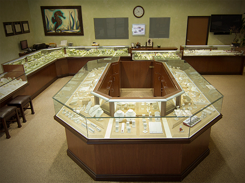 Inviting Interior of Beach City Jewelers